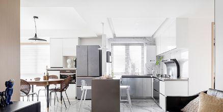 20万以上110平米三室一厅现代简约风格客厅装修案例