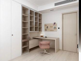 120平米四室一厅日式风格书房装修效果图