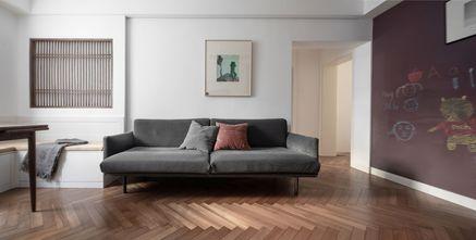 富裕型110平米四室一厅现代简约风格客厅图片