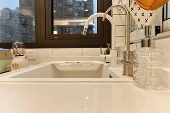3-5万80平米三室一厅混搭风格厨房图片