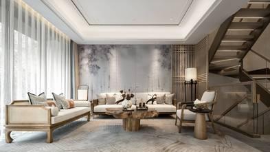 120平米三室两厅东南亚风格客厅装修图片大全