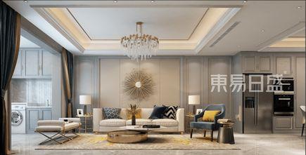 130平米三美式风格客厅装修图片大全