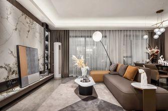富裕型90平米现代简约风格客厅设计图