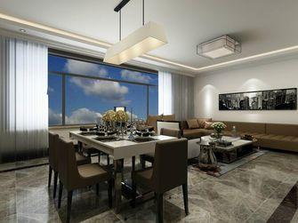 110平米三室三厅美式风格餐厅装修效果图