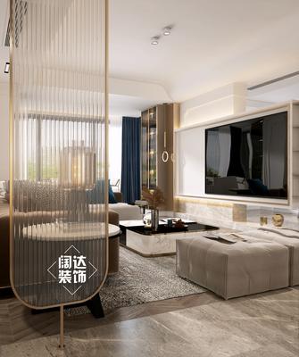 豪华型140平米复式轻奢风格客厅图
