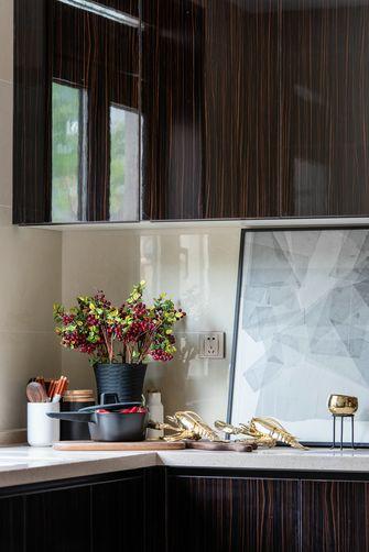 富裕型130平米三室一厅新古典风格厨房欣赏图