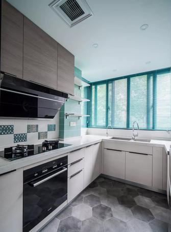 110平米三室两厅混搭风格厨房装修案例