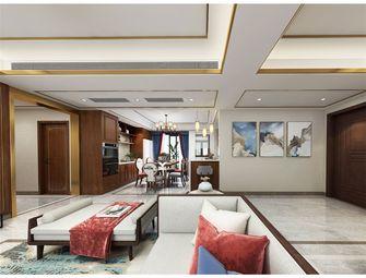 富裕型120平米三室两厅中式风格走廊装修案例