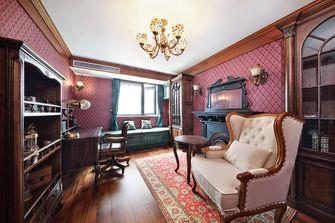 20万以上120平米三室两厅混搭风格书房效果图