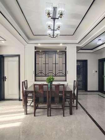 豪华型140平米三室两厅新古典风格餐厅装修案例