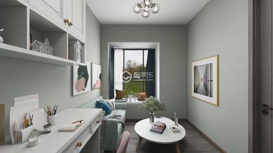 130平米四室两厅欧式风格书房装修案例