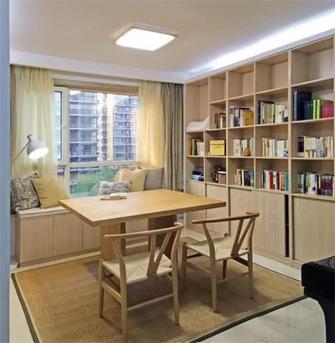 80平米日式风格书房图片大全