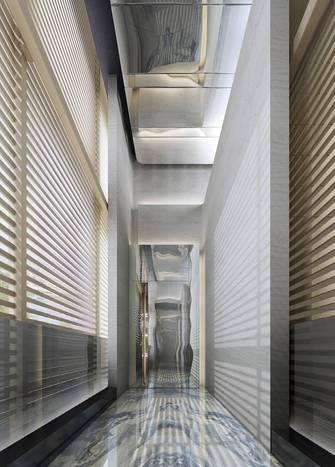 140平米现代简约风格玄关设计图