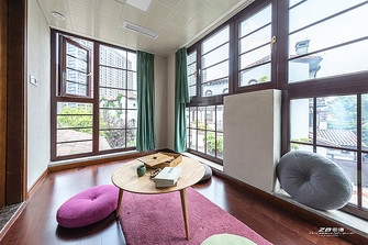 140平米别墅中式风格健身房装修案例