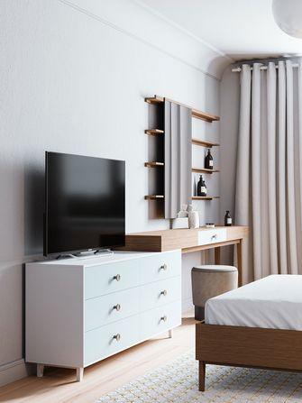 10-15万90平米三北欧风格卧室设计图