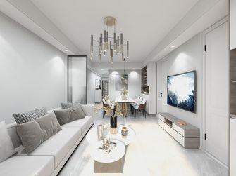 10-15万90平米三室一厅轻奢风格客厅图