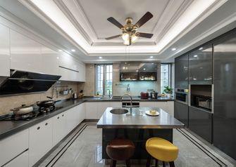 3万以下130平米三室两厅欧式风格厨房装修效果图