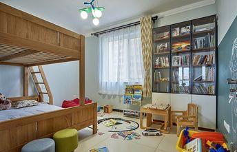 富裕型100平米三北欧风格青少年房装修图片大全