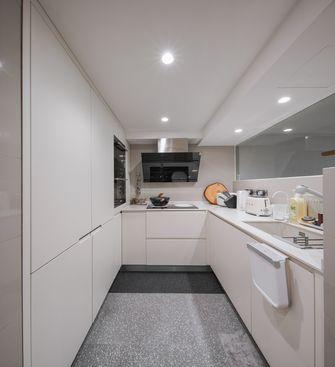 80平米复式日式风格厨房设计图