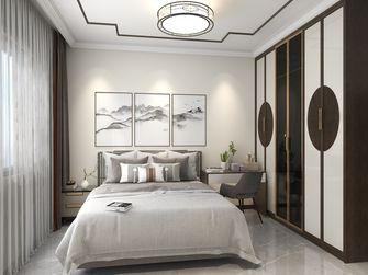 富裕型110平米三室两厅新古典风格卧室图