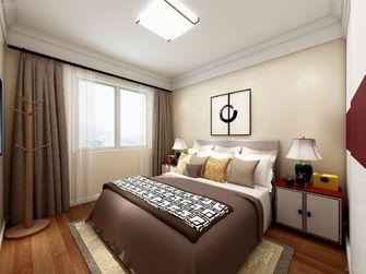 经济型100平米三室两厅中式风格卧室图