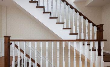 豪华型140平米四室三厅美式风格楼梯间效果图
