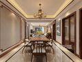 豪华型140平米三中式风格餐厅装修案例