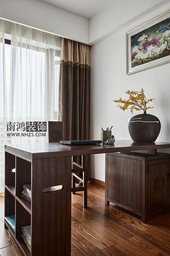 120平米四室两厅中式风格书房装修案例
