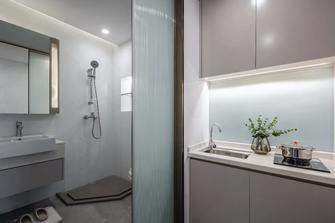 50平米公寓现代简约风格卫生间设计图