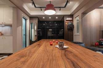 70平米一室两厅混搭风格餐厅装修案例
