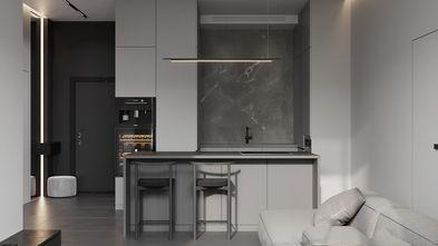 豪华型120平米四室两厅现代简约风格餐厅欣赏图