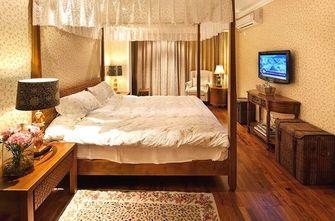 富裕型110平米三室两厅东南亚风格卧室图片