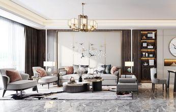 豪华型140平米四室四厅中式风格客厅装修案例