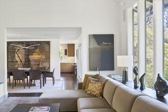 富裕型130平米四英伦风格客厅欣赏图