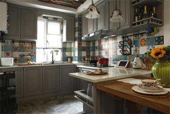 富裕型70平米三室两厅混搭风格厨房装修图片大全