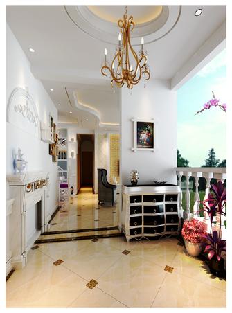 100平米三室两厅欧式风格玄关设计图