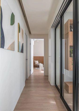 富裕型110平米三现代简约风格走廊欣赏图