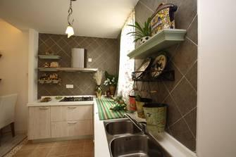 5-10万120平米三室两厅田园风格厨房装修效果图