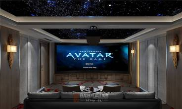 20万以上140平米复式中式风格影音室欣赏图