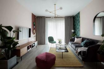 富裕型100平米三混搭风格客厅装修效果图