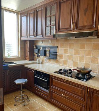 140平米复式田园风格厨房欣赏图