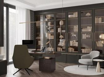 20万以上140平米别墅轻奢风格书房效果图
