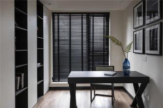 富裕型110平米现代简约风格书房装修案例