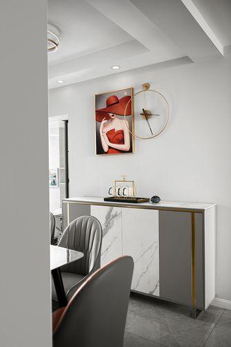 富裕型50平米轻奢风格餐厅装修案例