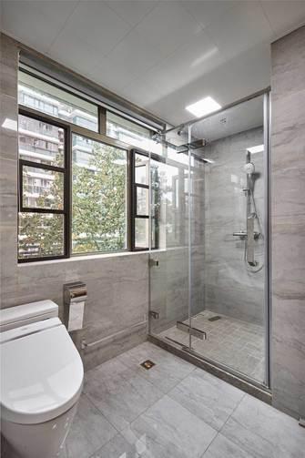 120平米三室四厅现代简约风格卫生间装修图片大全