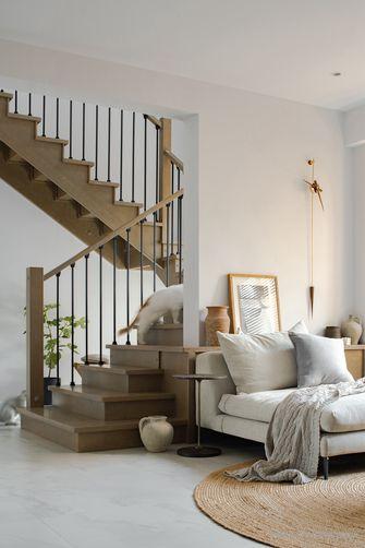 豪华型140平米三室两厅北欧风格楼梯间图