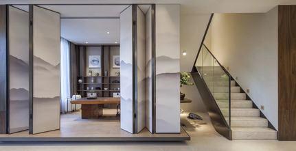 140平米别墅港式风格楼梯间图