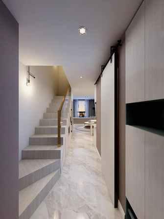 3-5万30平米小户型北欧风格楼梯间欣赏图