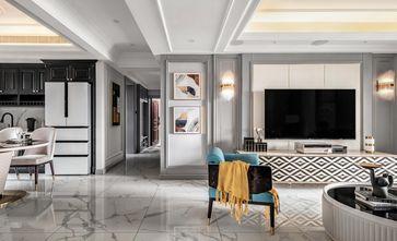 10-15万130平米三室两厅美式风格玄关图片