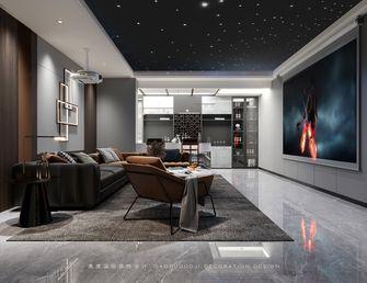 140平米别墅轻奢风格影音室图片